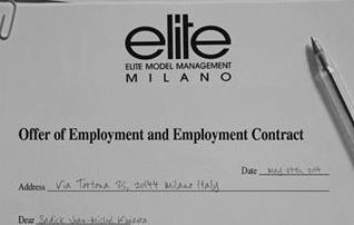Contrat bidon elite Sadick